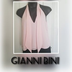 Gianni Bini Sleeveless Pale Pink Top. Sz M